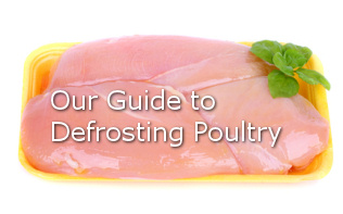 defrosting poultry