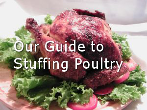 stuffing poultry