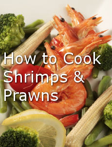 cooking shrimp prawn